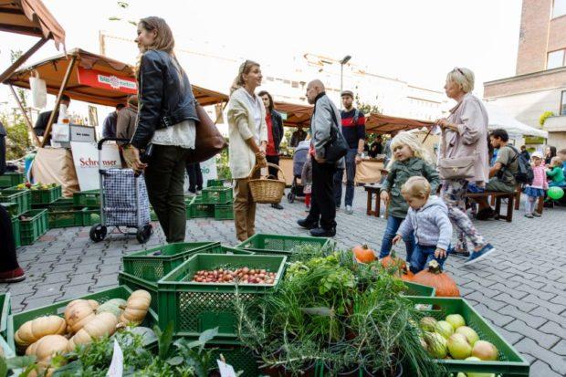 Zelenina na Biojarmarku 2018