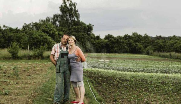 Ekozemědělec pan Košař s manželkou