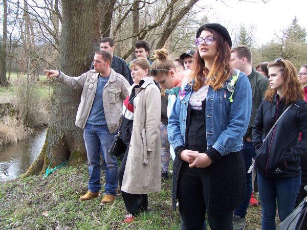 Petr Kuncl s účastníky exkurze