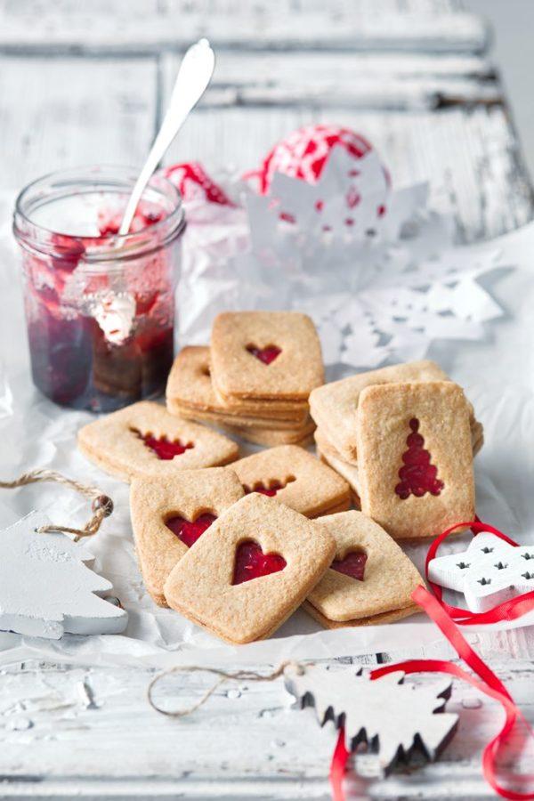 Vánoční linecké sušenky Hanky Zemanové