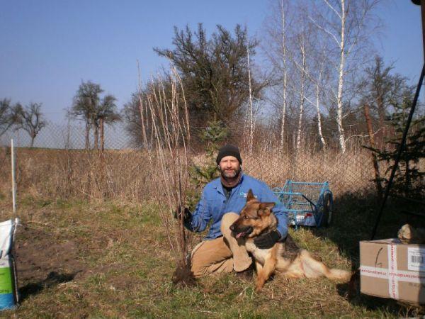 Petr Schauer se svým psem
