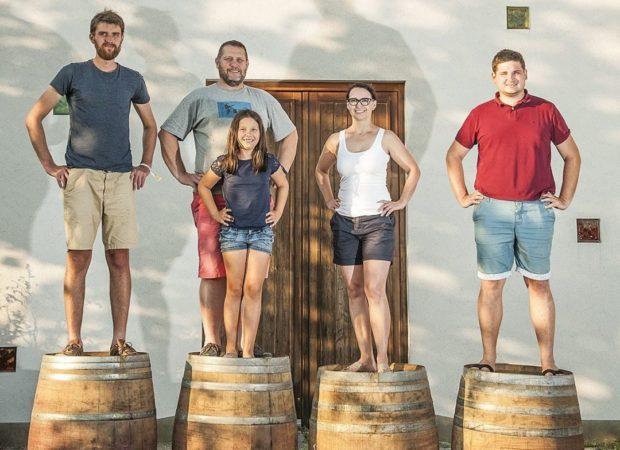 Rodinné vinařství Krásná Hora hospodaří na pěti hektarech vinic v bio režimu.