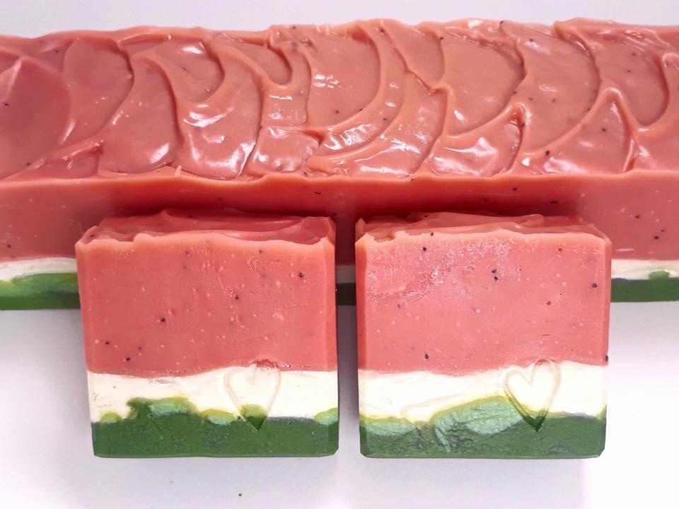Melounové mýdlo z Melounu